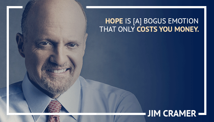 Inspirational trading quotes by Jim Cramer