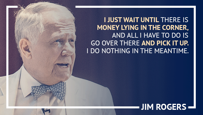 Inspirational trading quotes by Jim Rogers