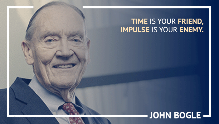 Inspirational trading quotes by John Bogle