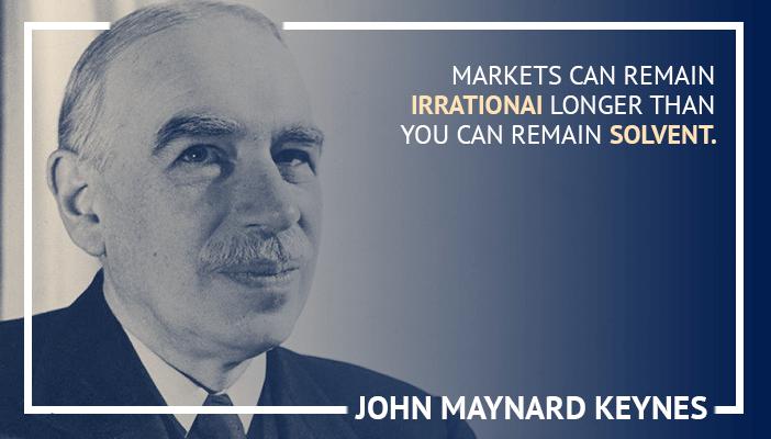 Inspirational trading quotes by John Maynard Keynes