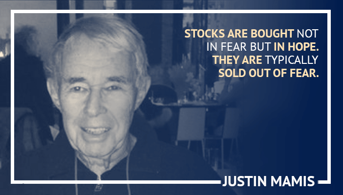 Inspirational trading quotes by Justin Mamis
