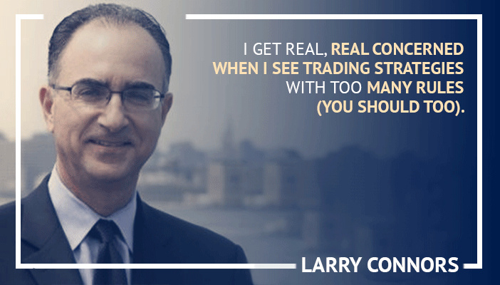 Inspirational trading quotes by Larry Connors