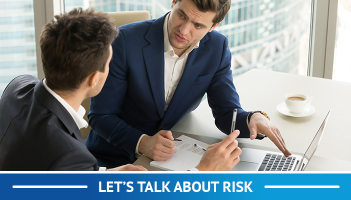 let's talk about risk
