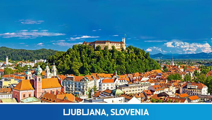 Ljubljana, most crypto friendly cities