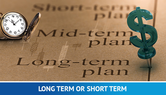 long term or short term trading