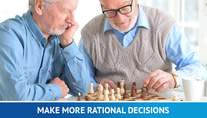 retirement, old men playing chess