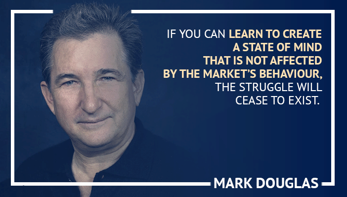 Inspirational trading quotes by Mark Douglas