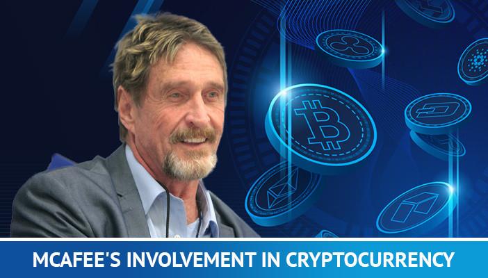 John McAfee involved in Bitcoin