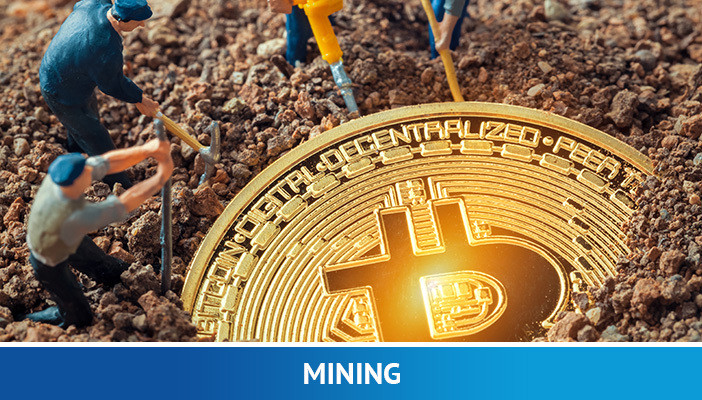 mining, cryptocurrency term