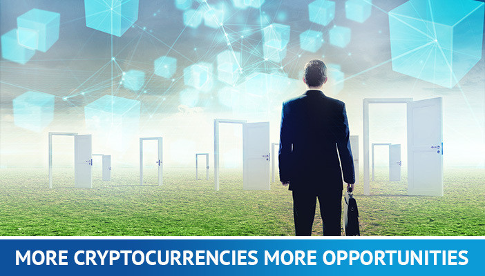 more opportunities to trade cryptocurrencies