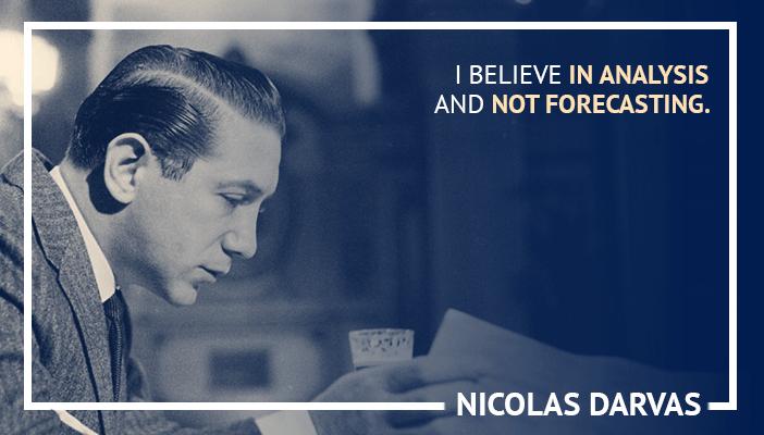 Inspirational trading quotes by Nicolas Darvas