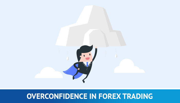 overconfidence  in trading, control your emotions when trading