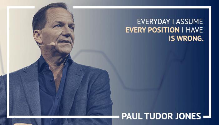 Inspirational trading quotes by Paul Tudor Jones