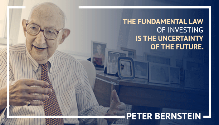 Inspirational trading quotes by Peter Bernstein