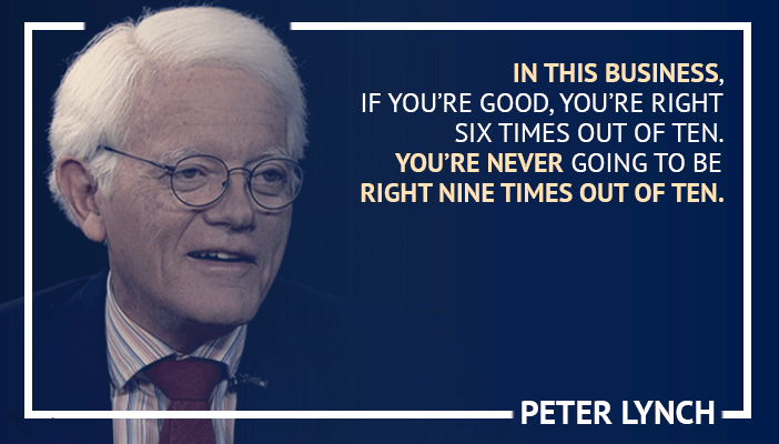 Inspirational trading quotes by Peter Lynch