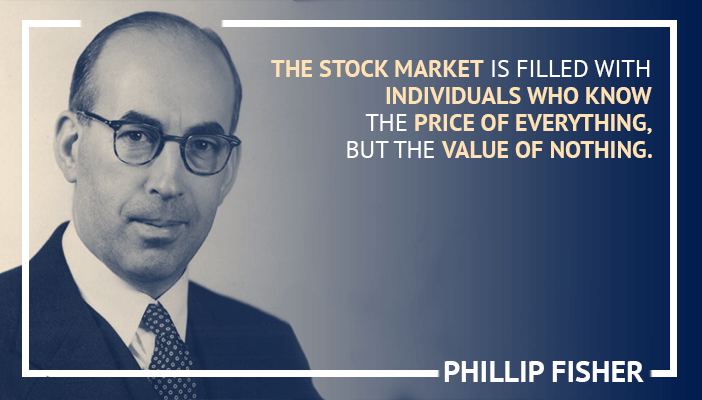 Inspirational trading quotes by Phillip Fisher