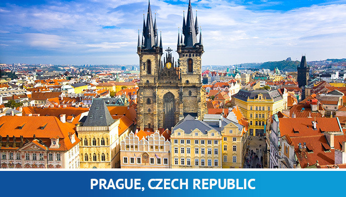 Prague, most crypto friendly cities