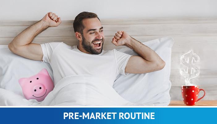 pre-market trading routine