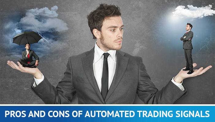 pros and cons of automated trading signals