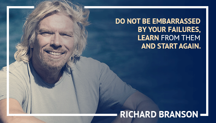 Inspirational trading quotes by Richard Branson