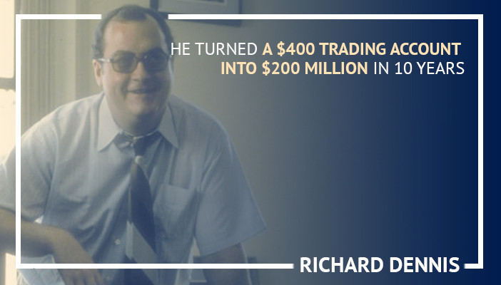richard dennis, famous day traders