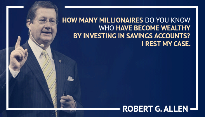 Inspirational trading quotes by Robert G Allen