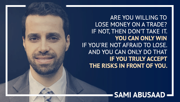 Inspirational trading quotes by Sami Abusaad