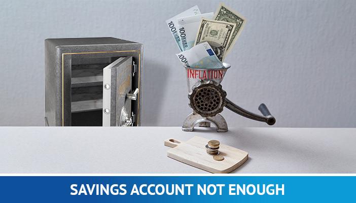 saving account, inflation