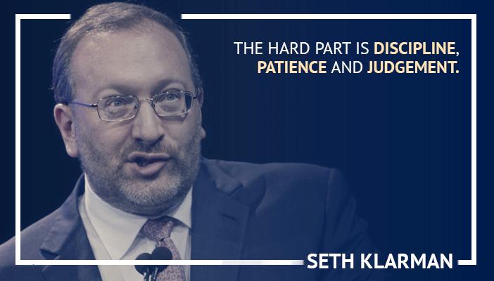 Inspirational trading quotes by Seth Klarman