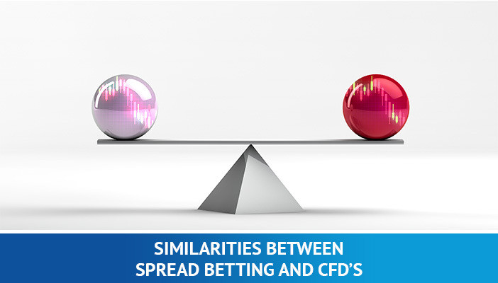 similarities between spread betting and CFDs