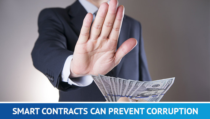 smart contracts can prevent corruption