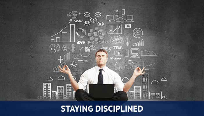 trading tip to boost your profit, staying disciplined