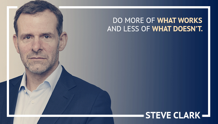 Inspirational trading quotes by Steve Clark