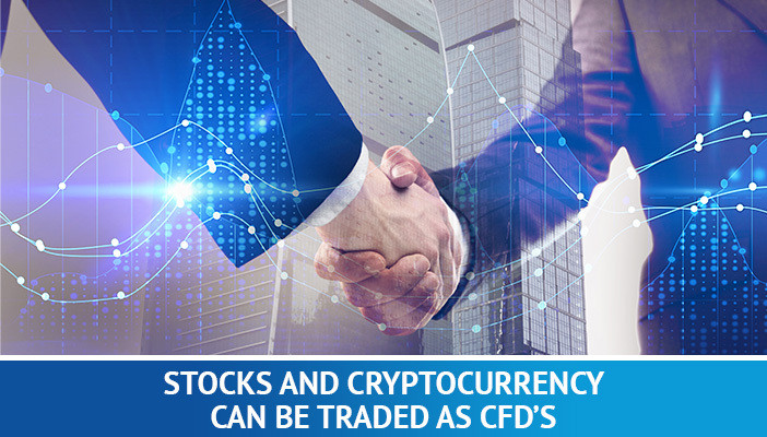 stocks and cryptocurrency trading