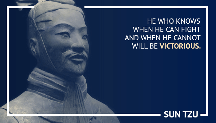 Inspirational trading quotes by Sun Tzu