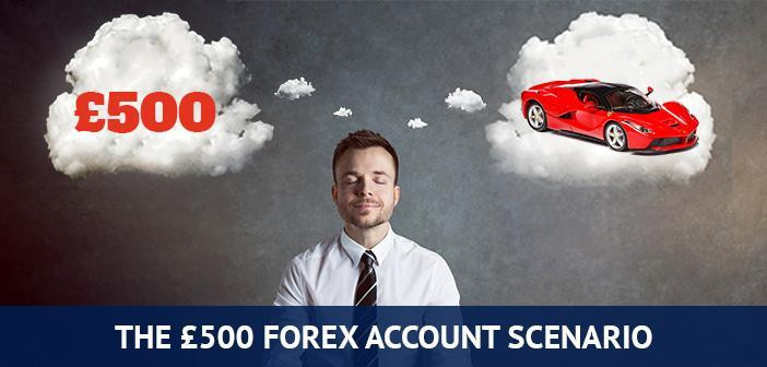 is 500 sufficient to start forex trading
