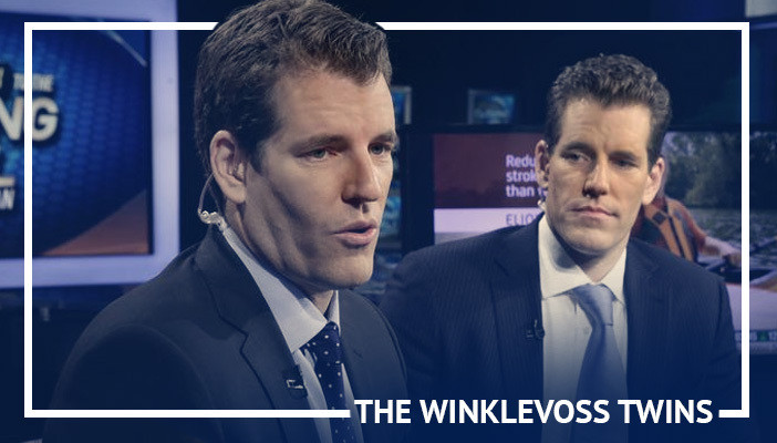 Winklevoss twins, most influential cryptocurrency figures
