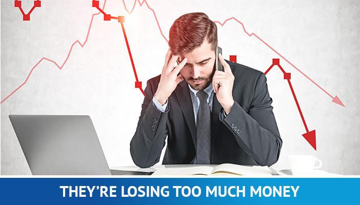 losing money trading