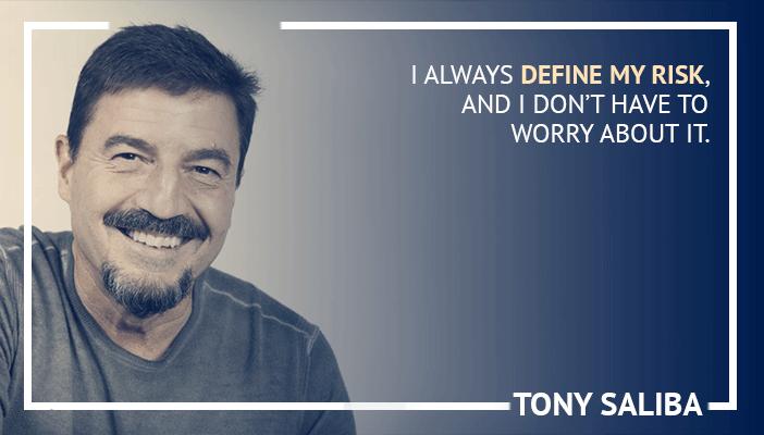 Inspirational trading quotes by Tony Saliba