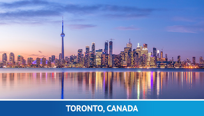 Toronto, most crypto friendly cities