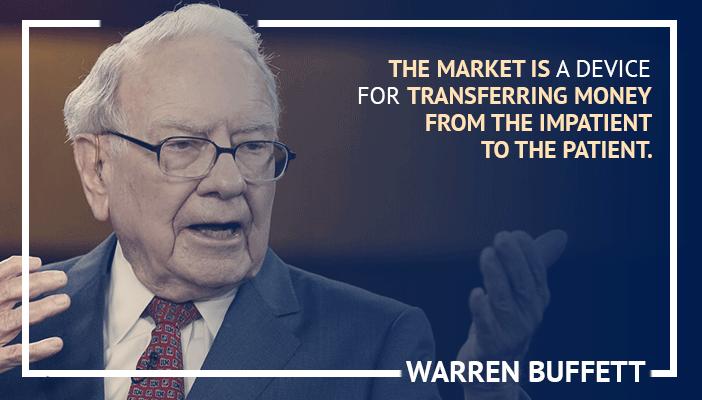 Inspirational trading quotes by Warren Buffett