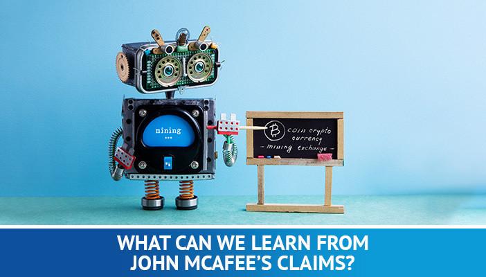 John McAfee's Bitcoin predictions
