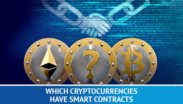 which cryptocurrencies have smart contracts, digital coins
