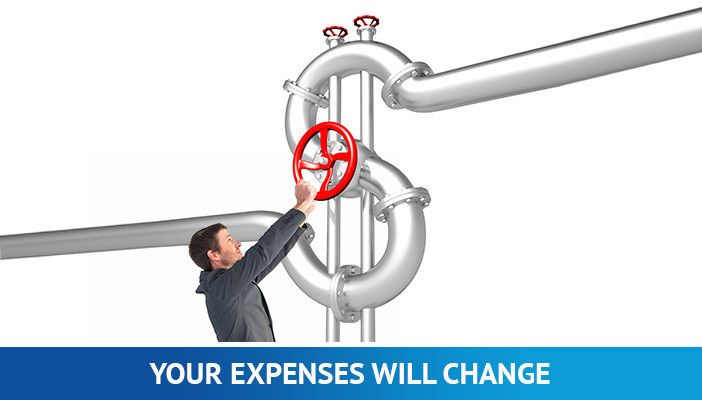 manage expenses, how much you spend