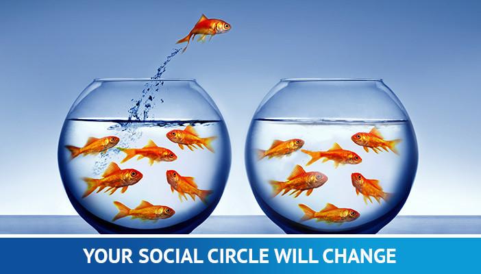 social circle, full-time trader