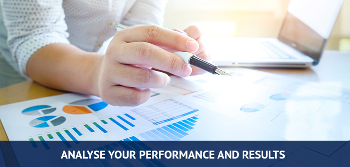 Analyse the results of your trades