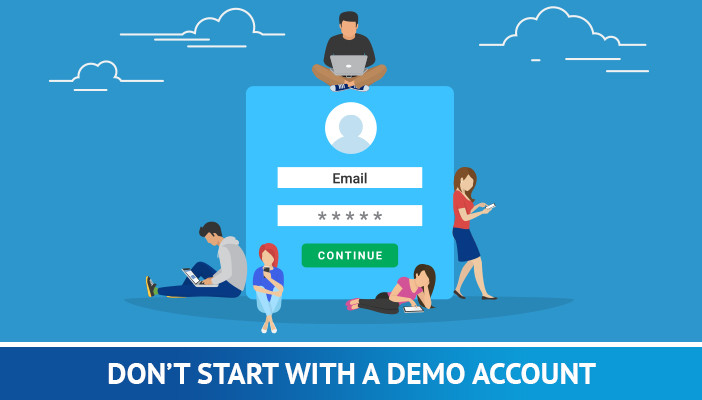 forex tricks and tips, don't start with demo account