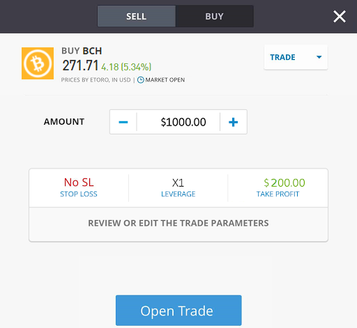 how to trade bitcoin cash