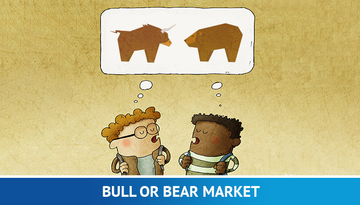 bull or bear market, price action