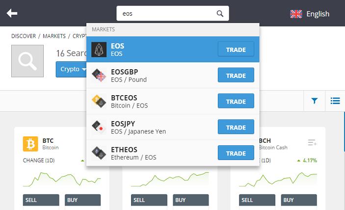 trade eos